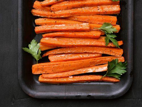 Pressure Cooker Carrots