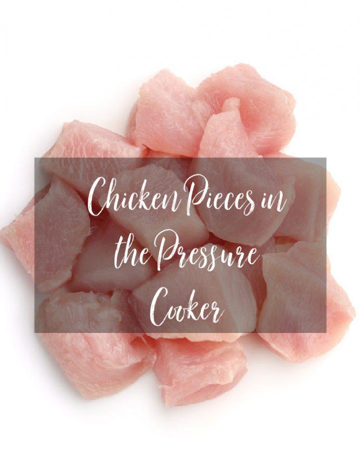 raw chicken pieces