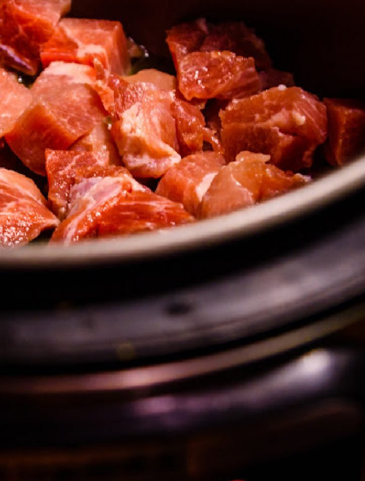 stew beef in the pressure cooker