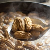 pressure cooker boiled peanuts in water