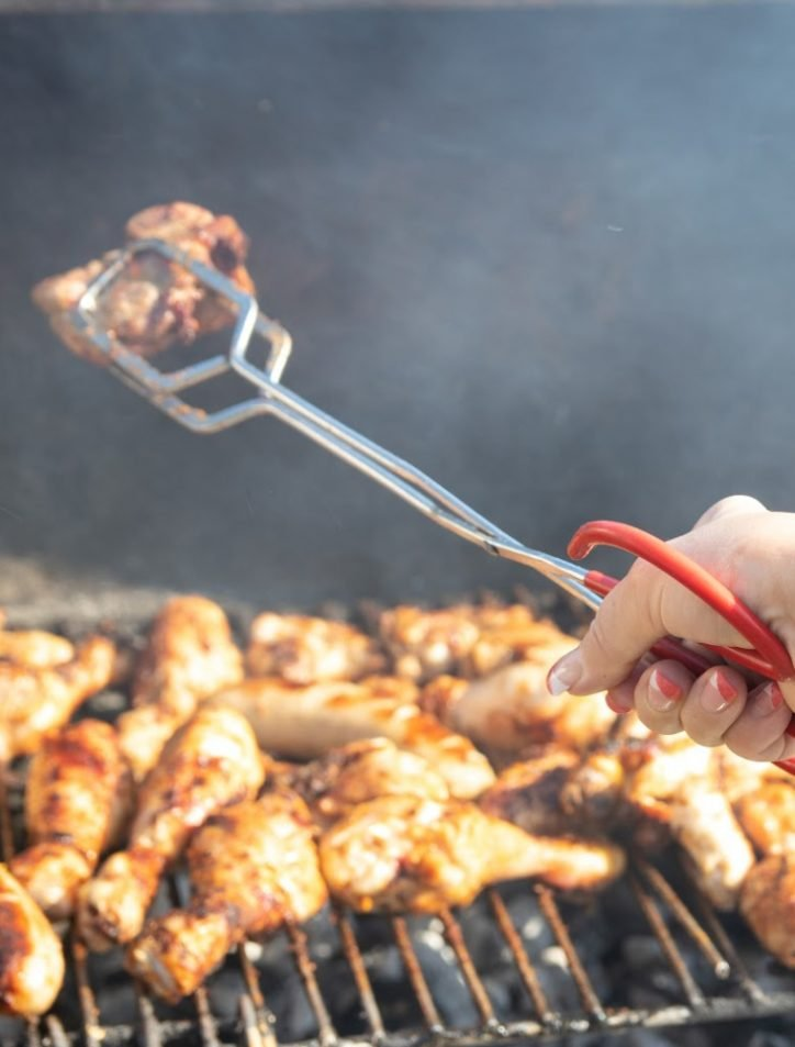 how to grill chicken wings